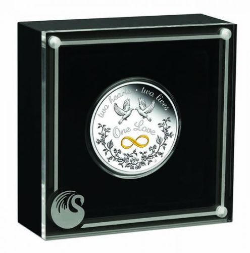 Stříbrná mince One Love 1 OZ