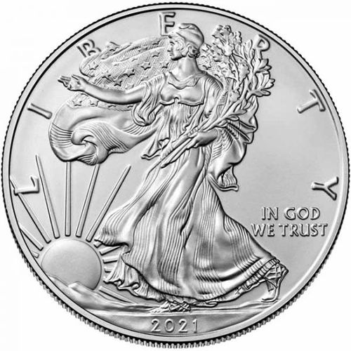 Stříbrná mince American Eagle 1 OZ - orel