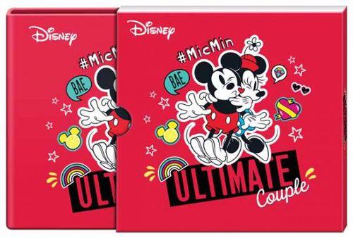 Stříbrná mince Disney Love - Minnie & Mickey