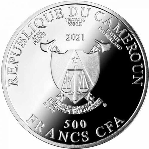 Stříbrná mince Love is in the Air