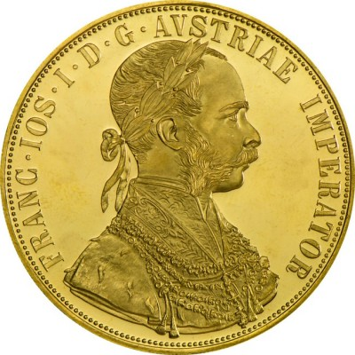 Franc Ios I D G 13.9636 zlatá investiční mince
