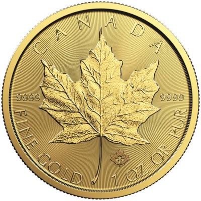 Maple Leaf 1/2 Oz investiční zlatá mince