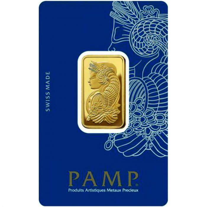 Investiční zlatý slitek 20g Pamp Fortuna
